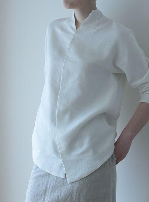 白シャツ57
