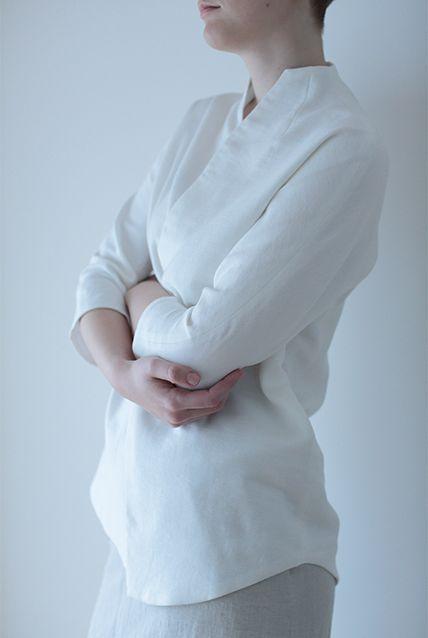 プレス白シャツ12日